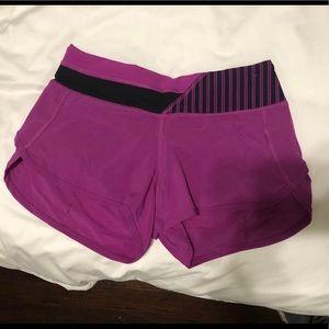 Lululemon Run Speed Shorts-Size 2